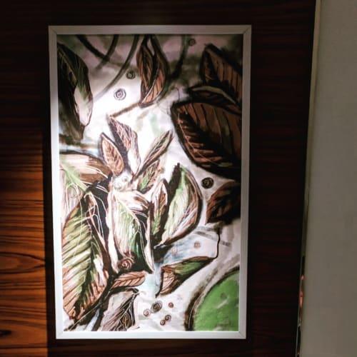 Paintings by Fathima Hakkim seen at Novotel Kochi Infopark, Kochi - Painting