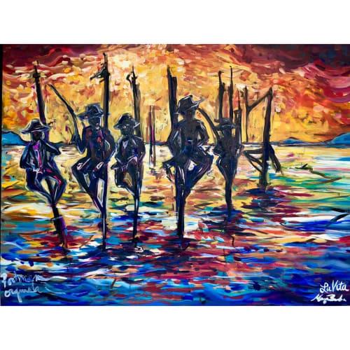 Mitchelito Orquiola - Murals and Paintings