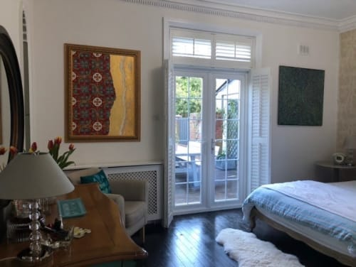 Paintings by Salvatore Battaglia seen at Private Residence, Surbiton - Tramonto