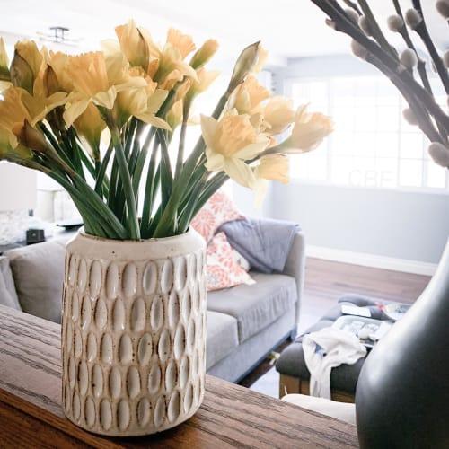 Orange Peel Pottery - Planters & Vases and Planters & Garden