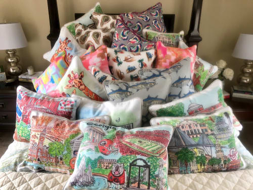 Pillows by Hennessey In The Home - Collegiate Pillow Collection