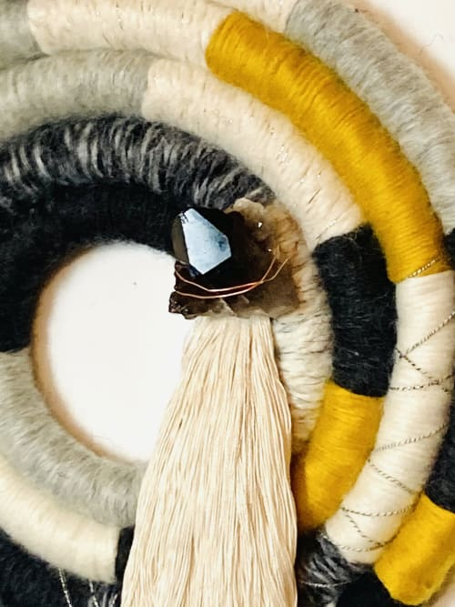 CIRCULAR ROPE ART | Wall Hangings by Trudy Perry