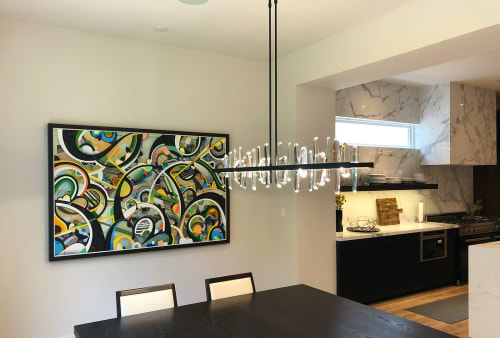 Paintings by Phil Harris at Private Residence, Atlanta - Wedge Index