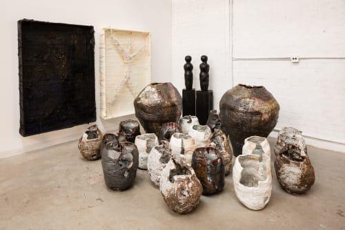 Sculptures by Galia Linn seen at Blue Roof Studios, Los Angeles - Studio Shot