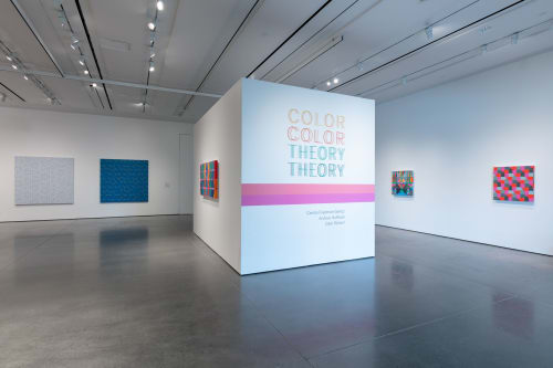 Paintings by Andrew Huffman seen at Boulder Museum of Contemporary Art, Boulder - Color Theory