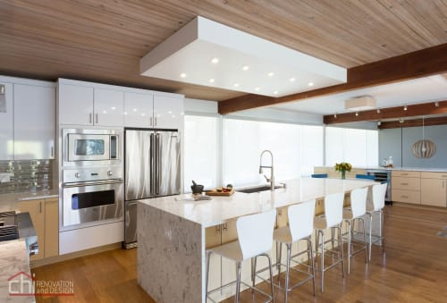 Interior Design by Chi Renovation & Design seen at Private Residence, Evanston - Evanston Kitchen Remodel