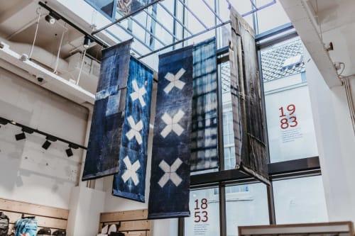Art & Wall Decor by Blue Print Amsterdam seen at Levi's Store Amsterdam, Amsterdam - Indigo Chandelier