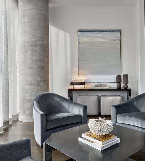 High Rise Condo By David Grout Gary Lee Partners Seen At Private Residence Chicago Wescover