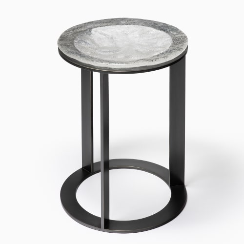 Tables by Chai Ming Studios seen at Atelier Gary Lee, Chicago - Kepler Side Table