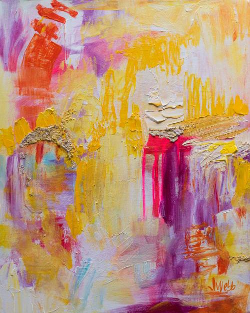 Paintings by Jillian Webb Herrmann | JWebb Fine Art - Happy to the Core