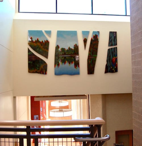 Art & Wall Decor by Michael Dupille seen at Hutton Elementary, Spokane - Manito Glow