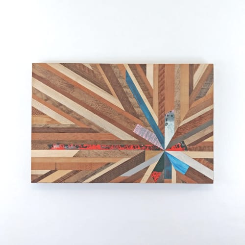 Wall Hangings by Christopher Original at Rubia Hair, West Linn - Wood Wall Art