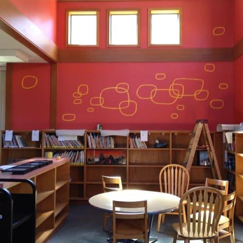 Murals by Tucker Nichols seen at Sausalito, Sausalito - Indoor Mural