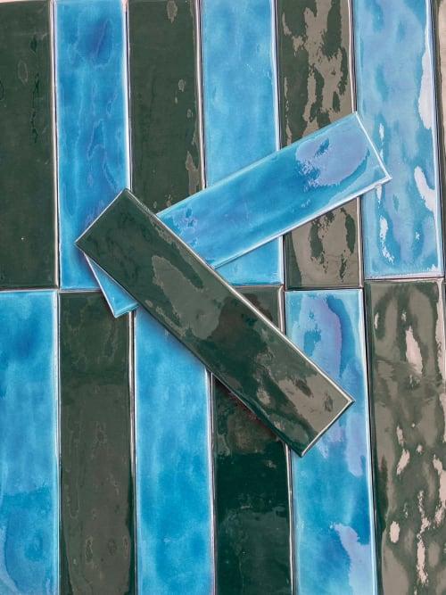 7,5x30cm Handmade tile   Tiles by MF Art Ceramic