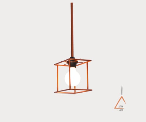 Modular Cage Pendant | Pendants by Atrix Lighting