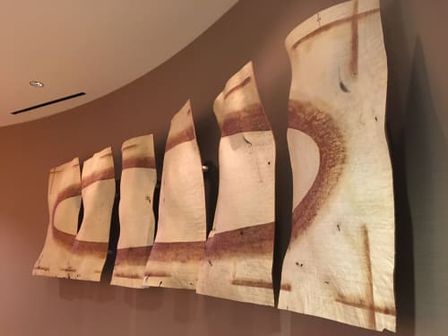 Sculptures by Christian Burchard seen at Venetian Resort Hotel Casino, Las Vegas - Through the Looking Glass