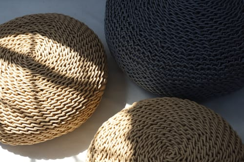 Benches & Ottomans by Studio Lloyd seen at Cape Town, Cape Town - Pebble Ottomans
