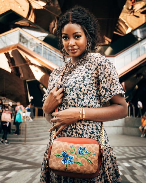 Murals by Surface of Beauty seen at Hudson Yards, New York - Coach Pop-up in Hudson Yards