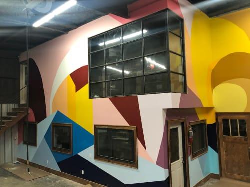 Murals by Elisa Gomez Art seen at Houston, Houston - Canopy Mural