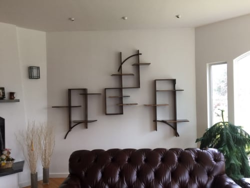 Furniture by Austin Heitzman Furniture seen at Private Residence, Boston - Cahn Shelf