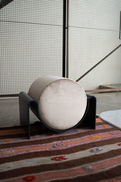 Benches & Ottomans by Asa Pingree seen at Private Residence, Brooklyn - Monitor Stool