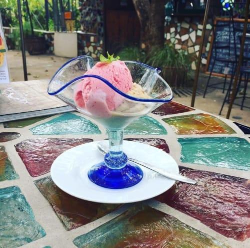 Tableware by Kitengela Hot Glass Ltd seen at Nairobi, Nairobi - Glass Coupe Dish