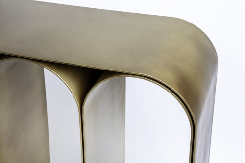 Tables by Pietro Franceschini seen at Private Residence - Gold Arch Console