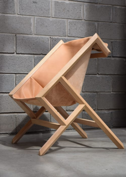 Chairs by Espina Corona seen at MiXX Projects + Atelier, Telluride - Armchair and Low Stool