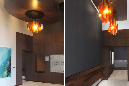 Chandeliers by Propellor Studio seen at The Prescott, North Vancouver - Cumulus 40x30 Chandelier