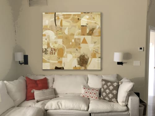 Paintings by Susan Melrath seen at Private Residence, Wellington - Abstract Painting