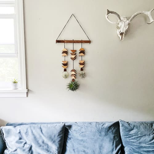Wall Hangings by Wildly Urban seen at Private Residence - Into the Dunes Southwest Wall Hanging