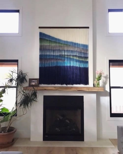 Wall Hangings by Inspire By Kelsey (Kelsey Cerdas Art) seen at Private Residence, Santa Cruz - Commission for Private Residence