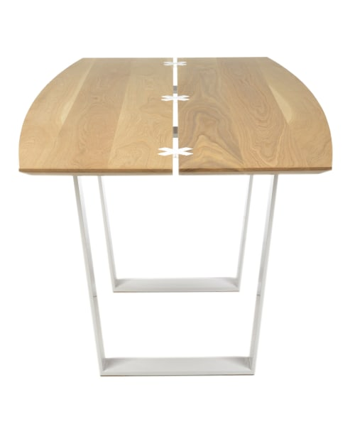 Tables by Pennenga Creative seen at Private Residence, Sarasota - Rubo Table