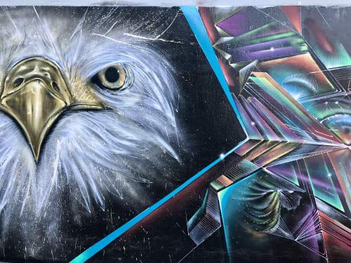 Street Murals by Max Ehrman (Eon75) at Mission District, San Francisco, San Francisco - ImissAmerica