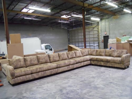 Sectional sofa made for the Man Cave TV show (Shown in ...