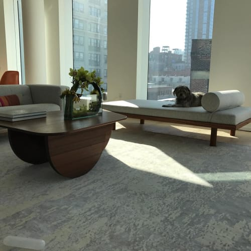 Tables by HarlemBuilt seen at Private Residence, New York - Sapele Coffee Table