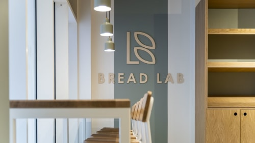 Interior Design by Liqui Group seen at Private Residence, London - Bread Lab Bakery