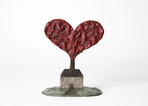 Sculptures by Dean Bowen seen at Melbourne, Melbourne - The House of Love (Tiny)