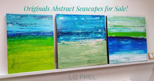 Liz Friel - Paintings and Art