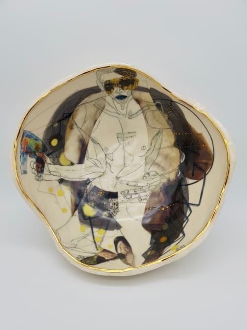 Ceramic Plates by Yurim Gough seen at Cambridge, Cambridge - Let me do!