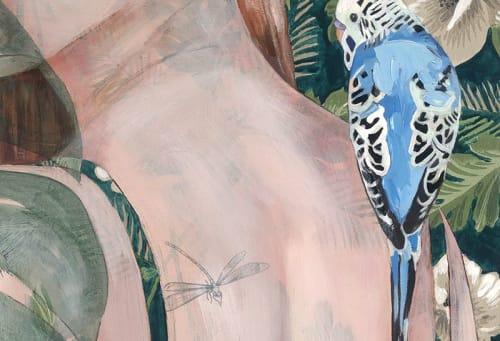 Art Curation by Jessica Watts seen at Mermaid Beach, Mermaid Beach - The Borrowed Nursery Mural