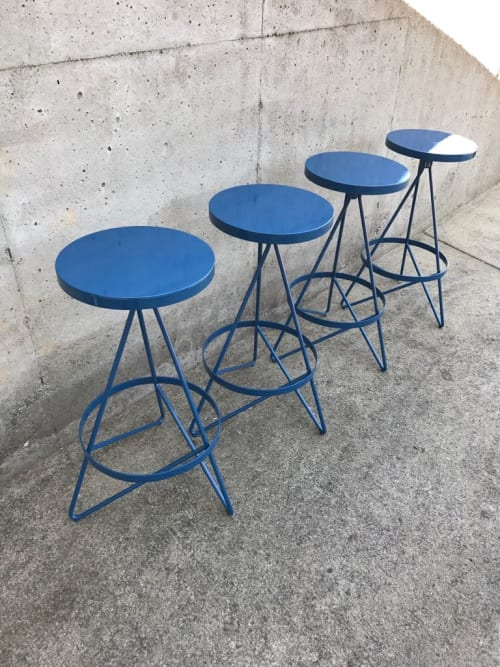 Tripod Barstools   Chairs by Marco Bogazzi   Whole Foods Market in Riverdale Park