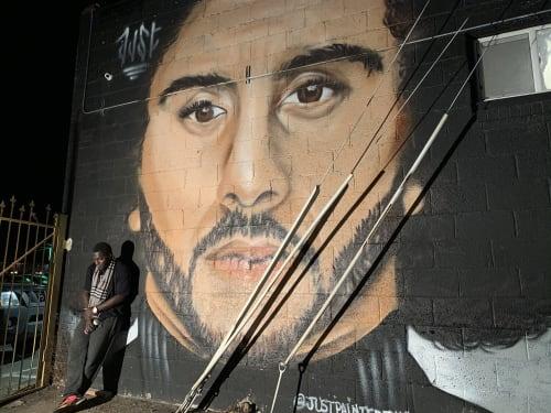 JUSTin Spire - Street Murals and Public Art