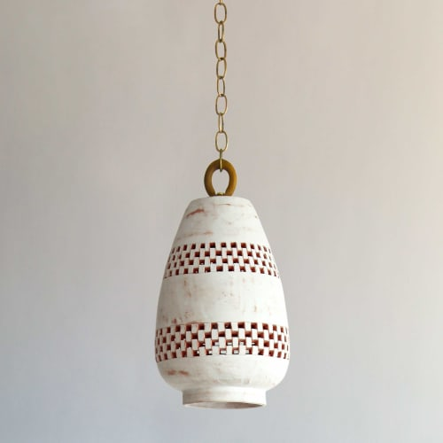 Pendants by l'aviva home seen at Private Residence, New York - Atzompa Collection