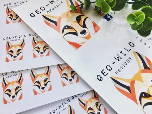 Geo-Wild Designs (Mahayla Clayton) - Paintings and Art