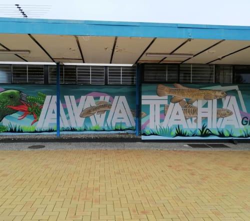 Jeremy Shirley - Murals and Street Murals