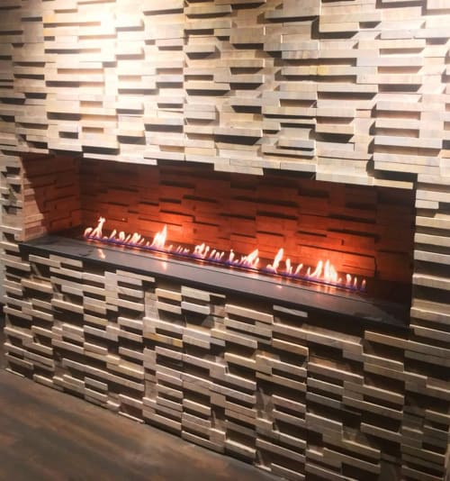 Fireplaces by GlammFire seen at Private Residence, Delhi - Cra7ionEVO 1600
