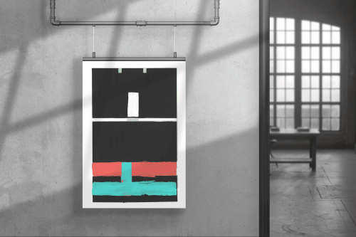 Black and Colours 4 | Paintings by Lori-Ann Bellissimo & Cartissi