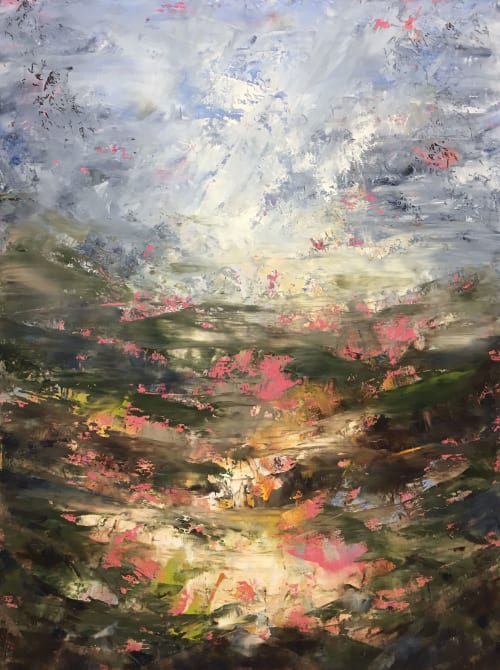 Travelling Light | Paintings by Stephanie Thwaites