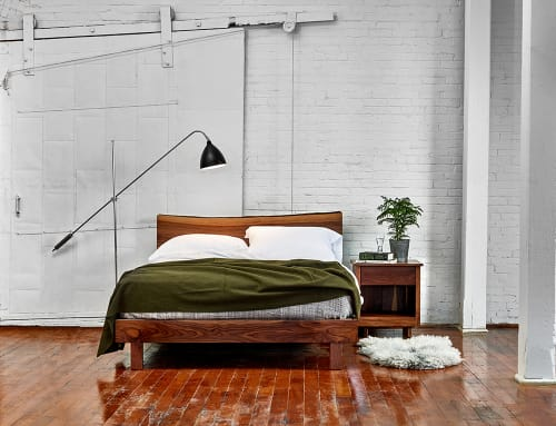 Beds & Accessories by Chilton Furniture Co. seen at Portland, Portland - Acadia Live Edge Bed